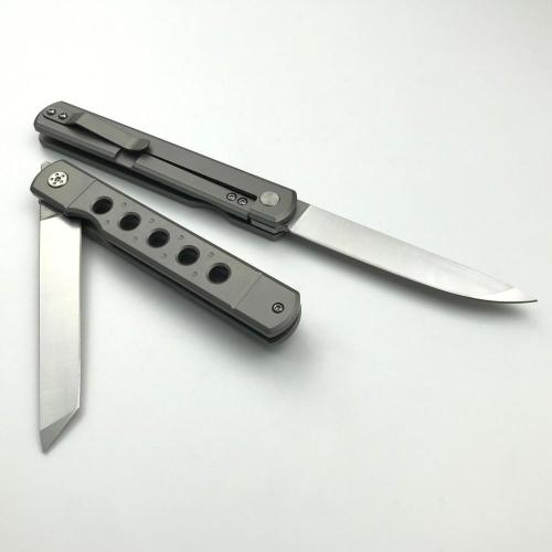 Titanium Multi Color Camping Hunting Pocket Knife