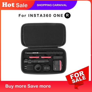 Case for INSTA360 ONE R Bag bullet time multi-functional storage bag carrying case for INSTA360 ONE R Accessories