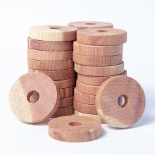 10Pcs/Set Cedar Block Fresh Odour Deterrent Insect Wardrobe Health Natural Clothes Camphor Insect Repellent Moth Wood