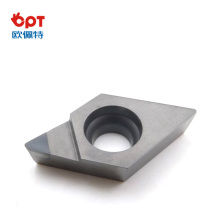 PCD diamond turning inserts for aluminum