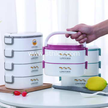 Portable Insulated lunch Box Portable Tableware
