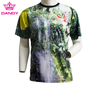 Mens футболкаҳои sublimated