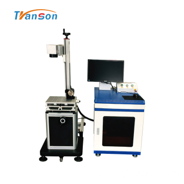 Split Fiber Industrial Laser Marking Machine 30W 50W