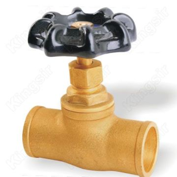 Gland Packings Globe Valve Tare da Solder ya ƙare