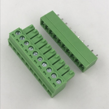 3.5mm Pitch PCB mounting 10 way terminal block