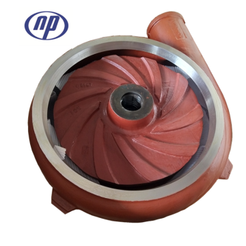6 inch sand pump high chromium wear-resistant alloy impeller