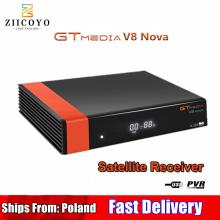 HD DVB-S2 GTmedia V8 Nova Satellite TV Receiver Built-in WIFI power Same as V9 Super Spain poland Satellite TV Receiver no APP