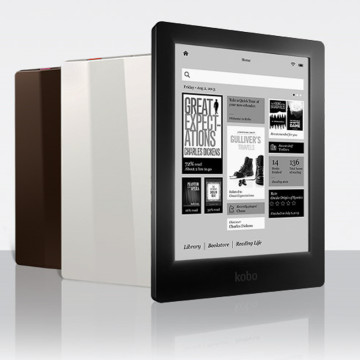 eBook eReader Kobo Aura HD 6.8 inch 1440x1080 WIFI Touch screen e Book Reader e-ink Front Light e-books Reader