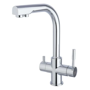 Three ways Kitchen Sink Mixer Taps