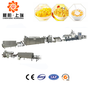 Cornflakes machine line breakfast cereal making machine