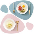 Silicone Placemats Coasters Eating  Mats Washable Waterproof