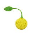 Lemon Shaped Silicone Tea Infuser Tea Strainer