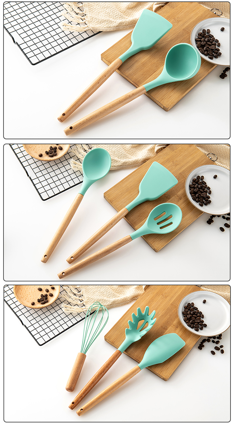 Silicone Kitchen Utensil Set