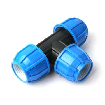 Watering Equipments 1pc 50mm 63mm PE Tee Connector Agricultural Greenhouse Irrigation System Garden Water Pipe Connectors Tube Fittings Quic