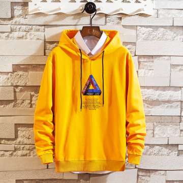 Custom polyester cotton hooded sweatshirt for Men