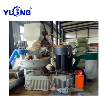 Poplar Sawdust Pellet Making Machine