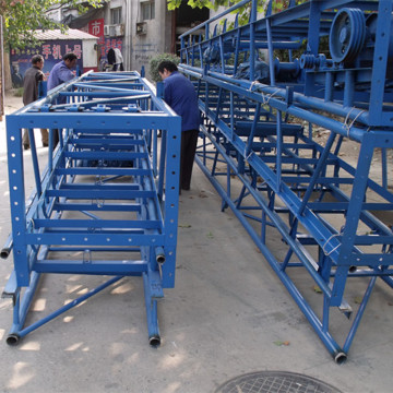cereal grain seed belt type conveyor