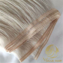 Single color-flat weft hair extensions