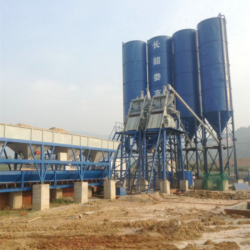 Electrical advanced skip type batching plant