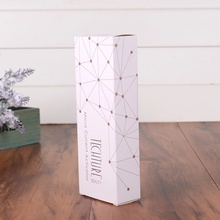 Custom White Card Coated Paper Lipstick Packaging Box