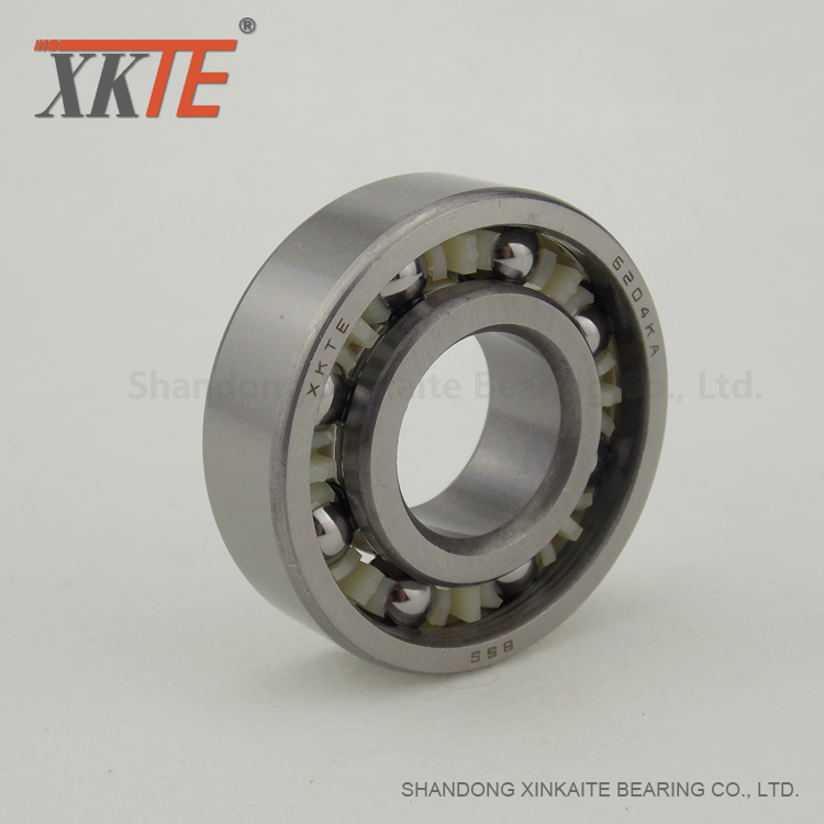 Polyamide 6/6 Cage Bearing For Pit Mining Conveyor Roller