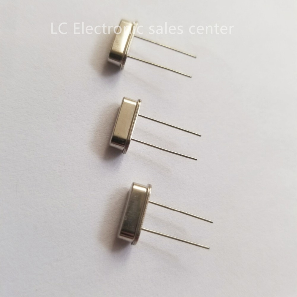 5pcs Quartz crystal in-line two-legged resonator HC-49S 4.1943MHZ 4.194304MHZ Passive clock crystal