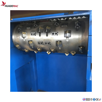 bottle crusher plastic grinder machine single shaft shredder