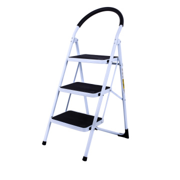 EN131 stool steel ladder