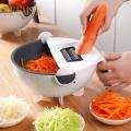 Multifunctional vegetable slicer household potato slicer potato chip slicer radish grater Kitchen Tools Vegetable Cutter