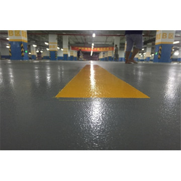 Garage factory epoxy micro-beads anti-skid floor