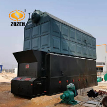 Industrial Wood Biomass Pellet Boiler 6ton Steam