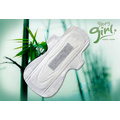 Bamboo charcoal negative ion sanitary pads