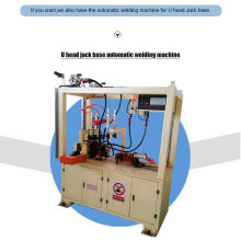 Waterproof U head jack base automatic welding machine
