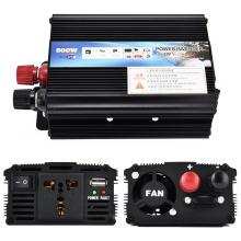 500W Car Inverter 12v 220v 50Hz Auto Inverter 12 220 Cigarette Lighter Charger Plug Power Converter Inverter with Cooling Fan