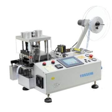 Automatic Hot Knife Tape Cutter with Hole Puncher