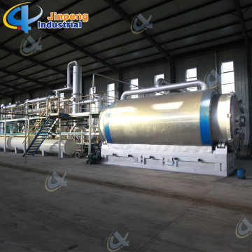Recycle Used Plastic to Diesel Pyrolysis Plant