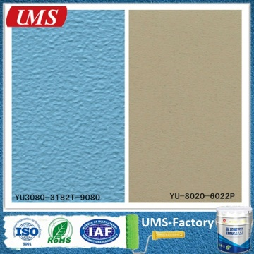 Textured cement climbing concrete wall paint