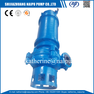 QAH special submersible type rubber liner slurry pump