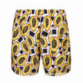 Fruit pattern shorts men swimwear personalised swim trunks