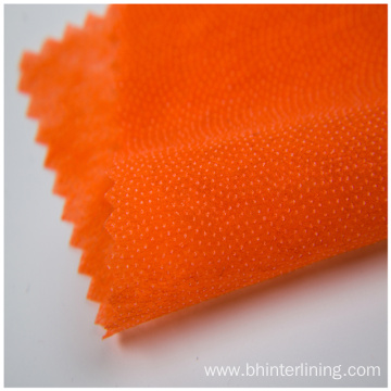 Shrink-resistant  nonwoven coat fusing interlining