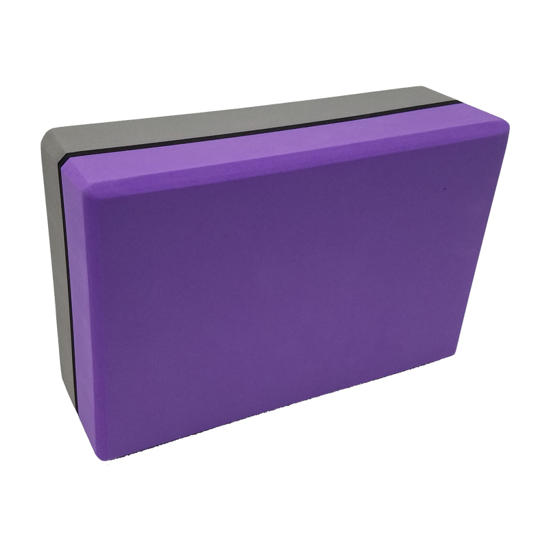 Camouflage Yoga Block Purple