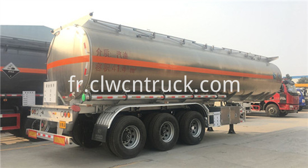 Aluminum Alloy Semi trailer 1