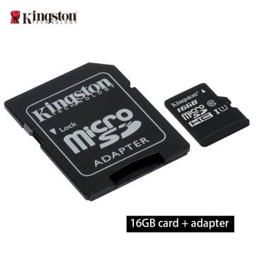 kingston Memory Card 8GB 16GB 32GB 128GB 64GB Micro sd card Class10 flash card Memory Microsd TF/SD Card adapter / card reader