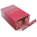Red color small perfume boxes