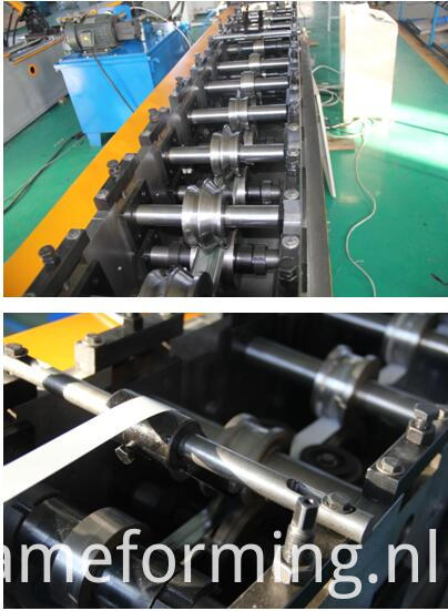 T grid rolling forming machine