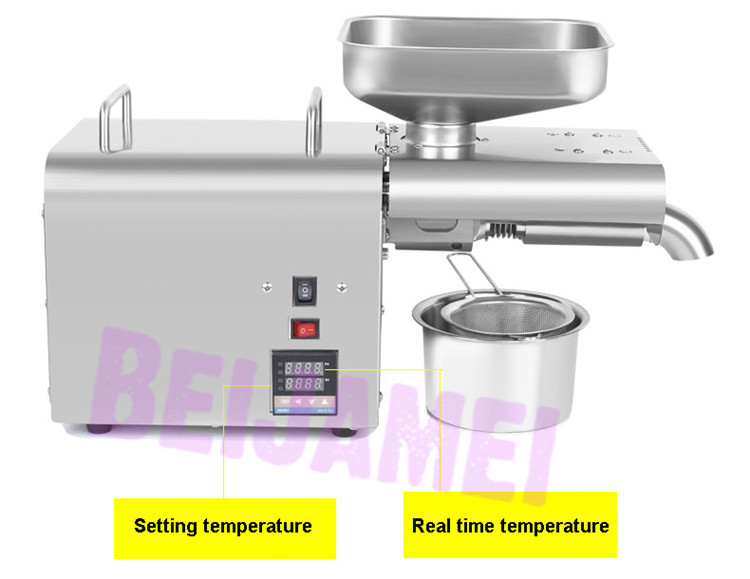 BEIJAMEI Automatic sesame oil press maker machine commercial peanut oil making electric soybean oil extractor