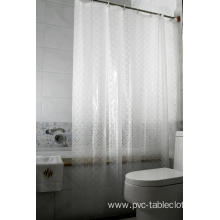 3D EVA Shower Curtain Lowes