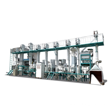 30-40TPD complete fully auto mini rice mill plant