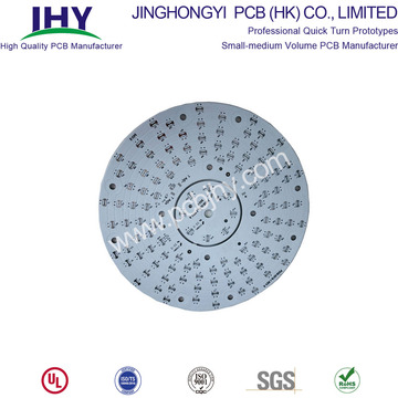 1 Layer Aluminum Material LED PCB Round