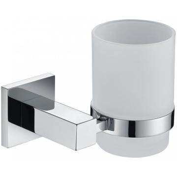 Glass Cup Holder For Bathroom And Toilet